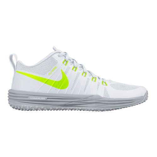 Mens Nike Lunar TR1 Cross Training Shoe - White/Volt 8.5