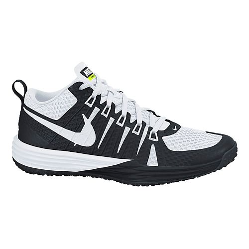 Mens Nike Lunar TR1 Cross Training Shoe - Black/White 11
