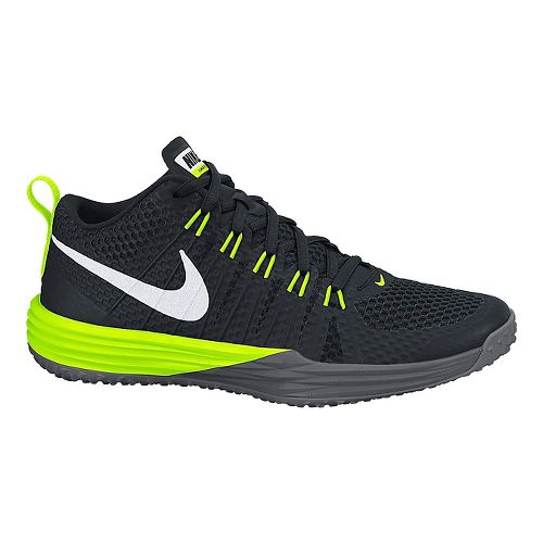 Mens Nike Lunar TR1 Cross Training Shoe - Black/Volt 11.5