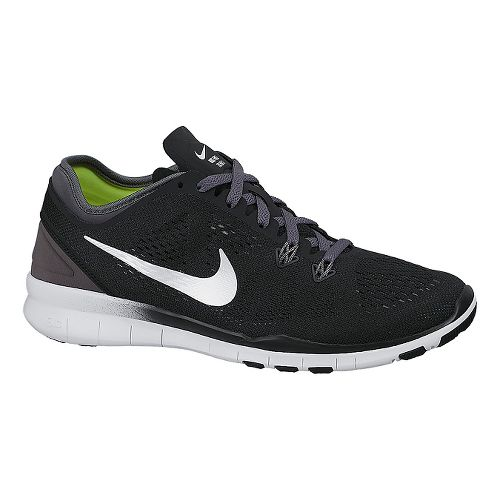 Womens Nike Free 5.0 TR Fit 5 Cross Training Shoe - Black/White 8.5