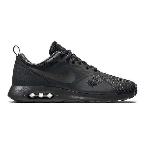 Mens Nike Air Max Tavas Casual Shoe - Black 10.5