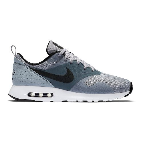 Mens Nike Air Max Tavas Casual Shoe - Grey/Blue 11.5
