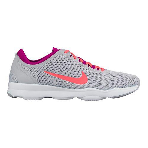 Womens Nike Zoom Fit Cross Training Shoe - Grey/Pink 6