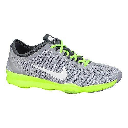 Womens Nike Zoom Fit Cross Training Shoe - Grey/Pink 8.5