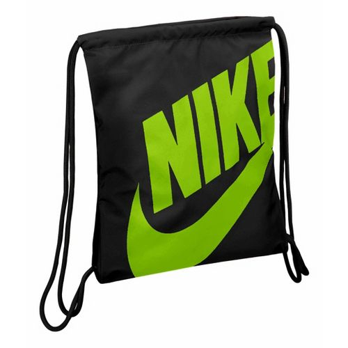 Nike Heritage Gymsack Bags - Black/Green