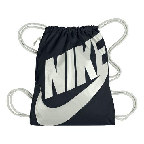 Nike Heritage Gymsack Bags - Black/White