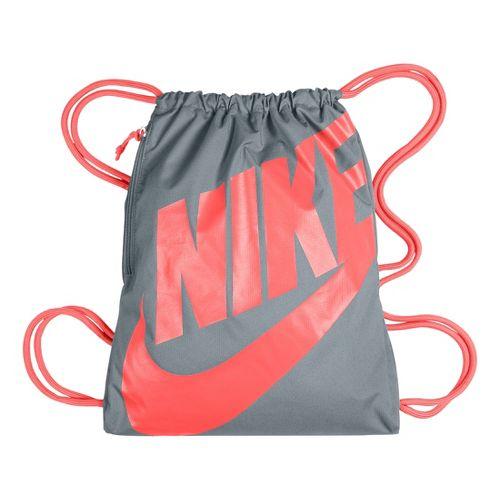 Nike Heritage Gymsack Bags - Grey/Orange