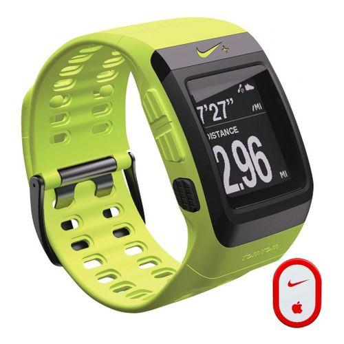 Nike + SportWatch GPS w/Sensor Monitors - Volt/Black