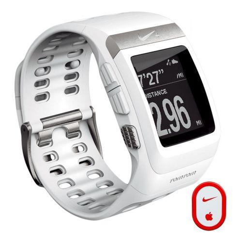 Nike + SportWatch GPS w/Sensor Monitors - White