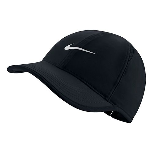 Womens Nike Featherlight Cap Headwear - Black