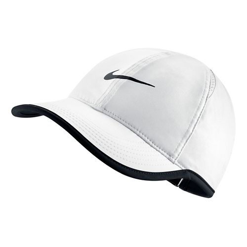 Womens Nike Featherlight Cap Headwear - White