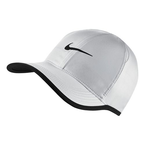 Mens Nike Featherlight Cap Headwear - White