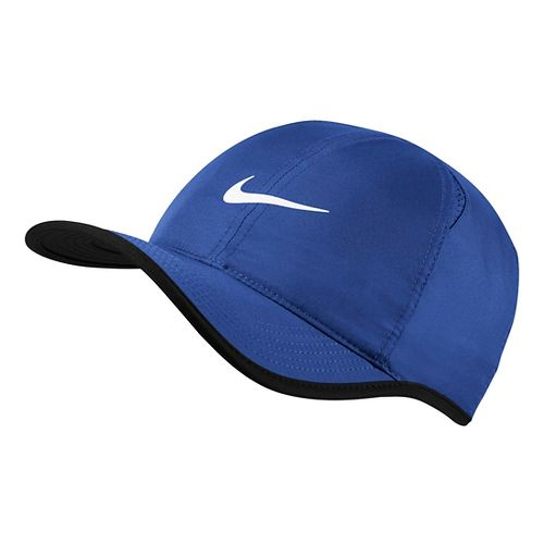 Mens Nike Featherlight Cap Headwear - Game Royal/Black