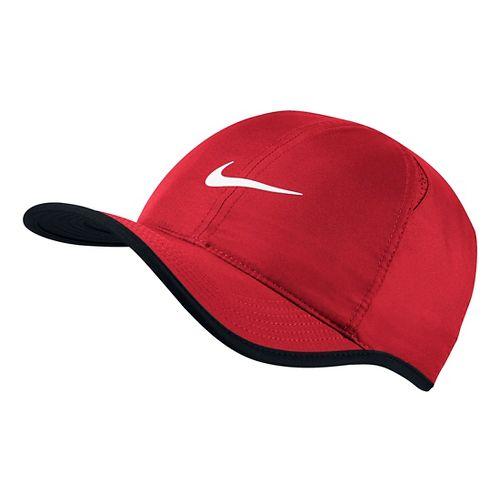 Mens Nike Featherlight Cap Headwear - University Red