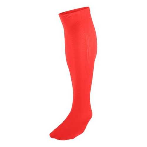 Nike Elite Running Support Anti Blister Lightweight OTC Socks - Bright Crimson M