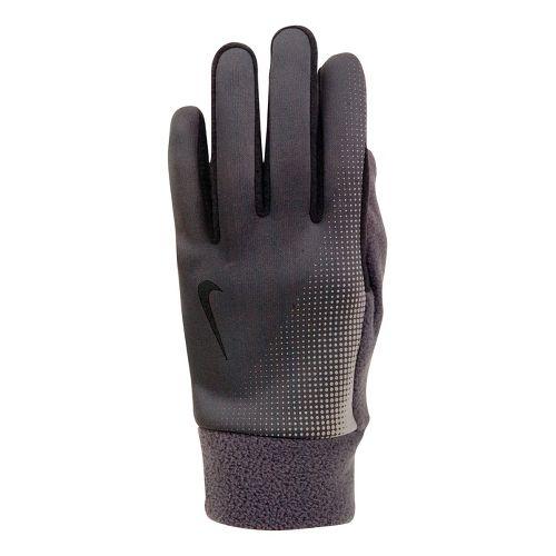 Mens Nike Thermal Tech Run Glove Handwear - Anthracite/Black M