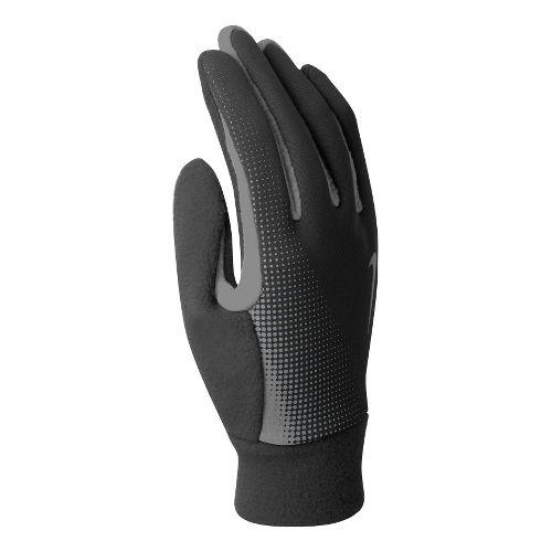 Mens Nike Thermal Tech Run Glove Handwear - Black/Anthracite L