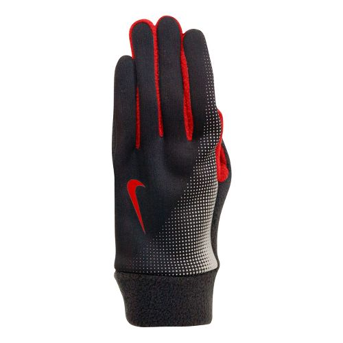 Womens Nike Thermal Tech Run Glove Handwear - Black/Crimson M