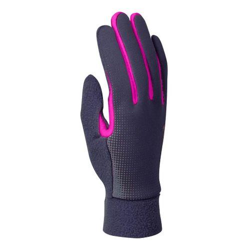 Womens Nike Thermal Tech Run Glove Handwear - Slate/Pink M