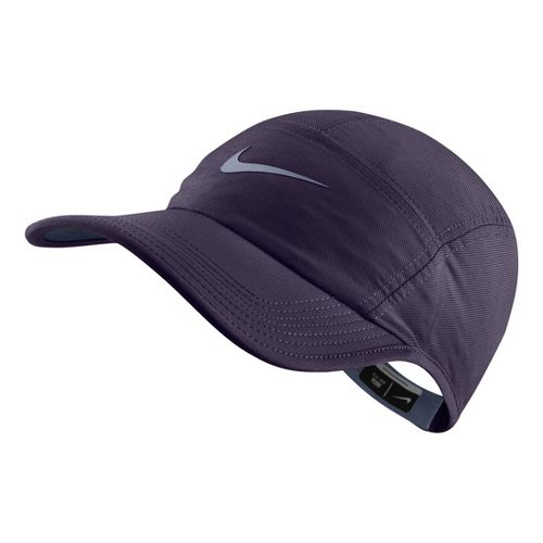 Womens Nike RU AW84 Cap Headwear - Purple