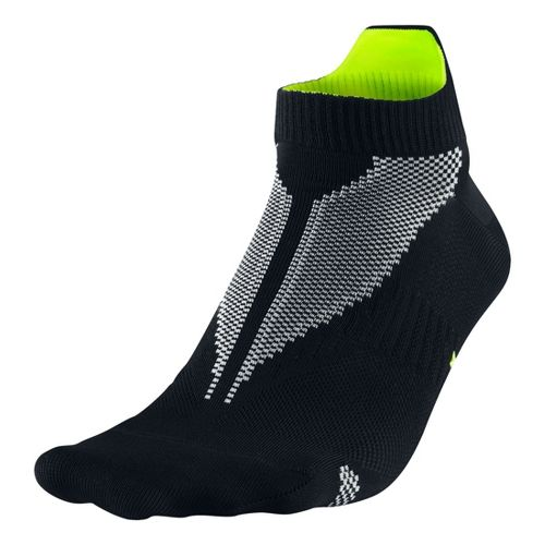 Nike Elite Hyper-Lite No Show Tab Socks - Black M