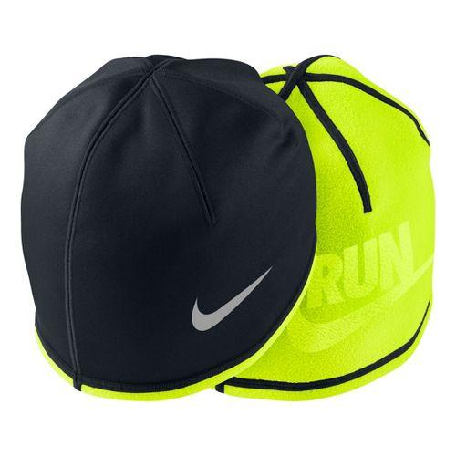 Mens Nike Beanie Headwear - Black/Volt