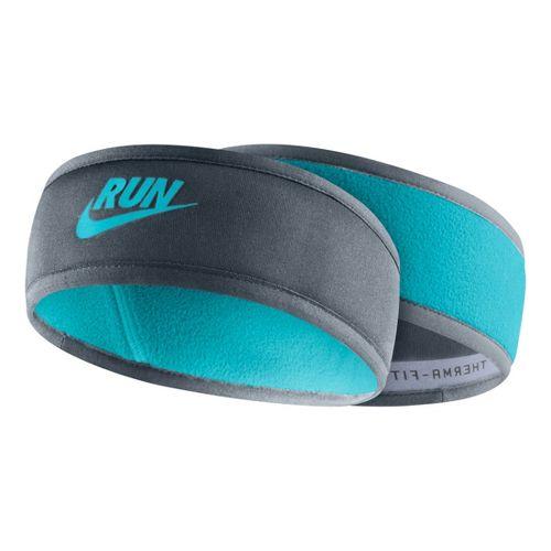 Womens Nike Reversible Headband Headwear - Teal