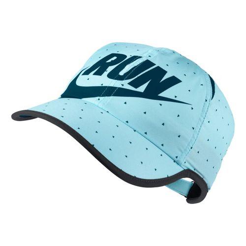 Womens Nike Seasonal Featherlight Cap Headwear - Glacier