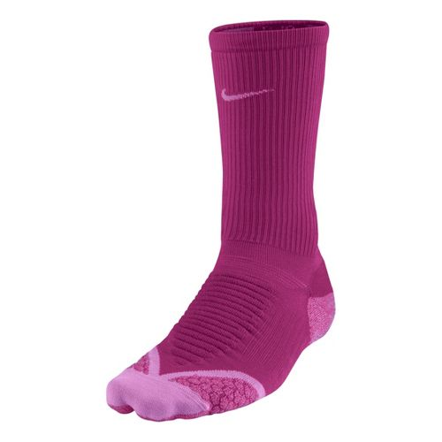Nike Elite Running Cushion Crew Socks - Bright/Magenta S