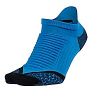 Nike Elite Running Cushion No Show Tab Socks