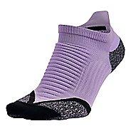 Nike Elite Running Cushion No Show Tab Socks
