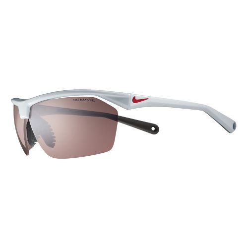 Nike Tailwind Speed Tint Sunglasses - Platinum/Red