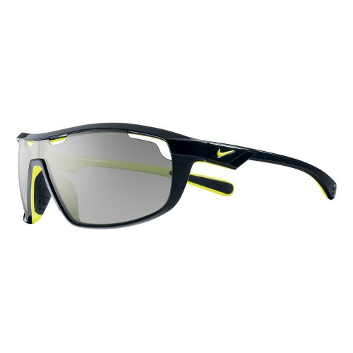 Nike Road Machine Sunglasses - Black/Voltage Yellow