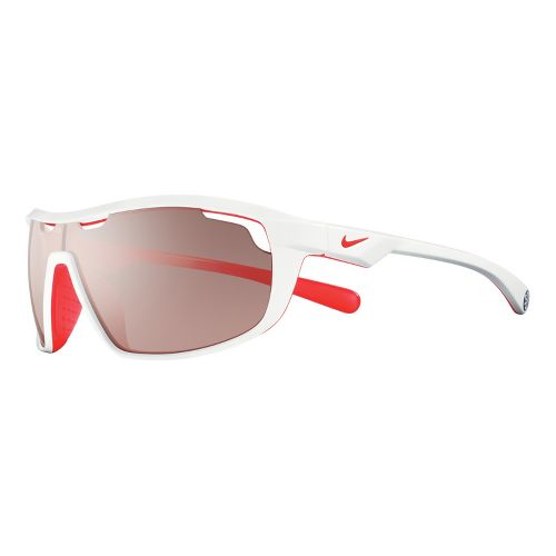 Nike Road Machine Speed Tint Sunglasses - White/Crimson