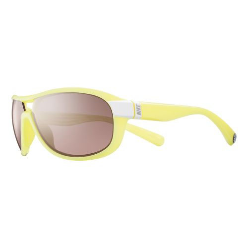 Nike Miler Speed Tint Sunglasses - White/Electric Yellow