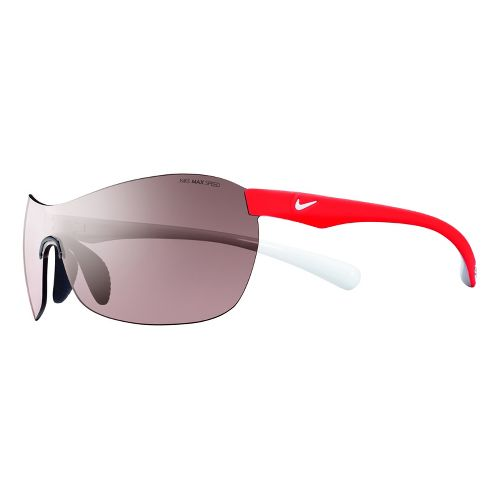 Nike Excellerate Speed Tint Sunglasses - Crimson/White