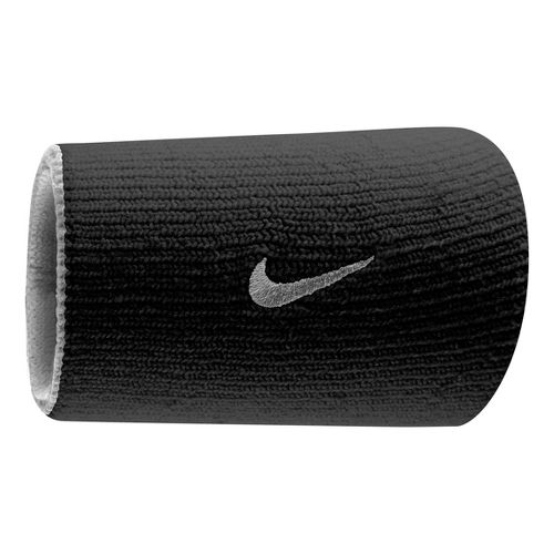 Nike Dri-FIT Home & Away Doublewide Wristband Handwear - White/Black