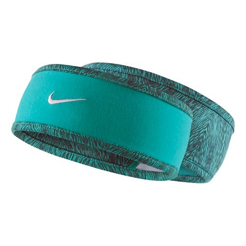 Womens Nike Run Cold Weather Reversible Headband Headwear - Dusty Cactus