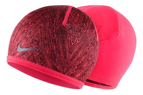 Womens Nike Run Cold Weather Beanie Headwear - Hyper/Punch