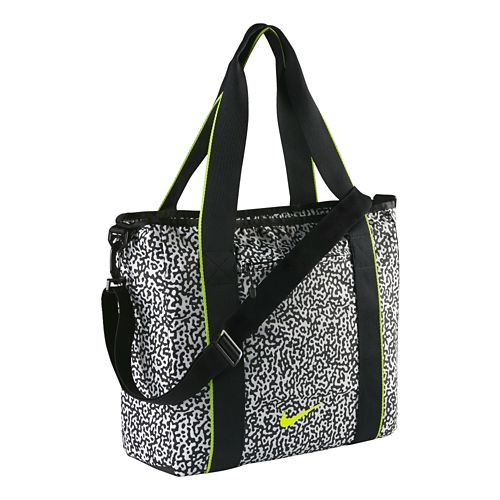 Nike Legend Track Tote Bags - White/Black