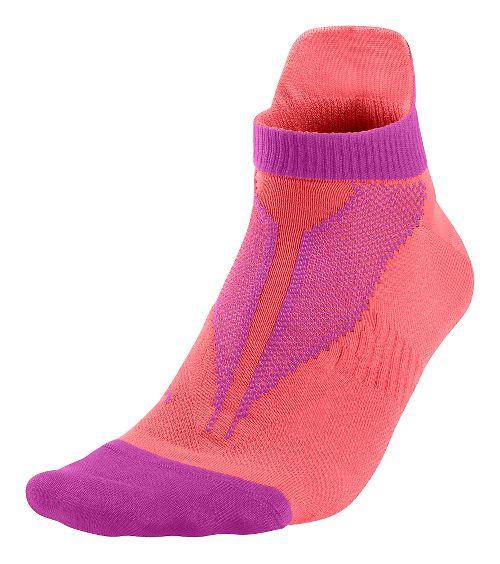 Nike Elite Lightweight No Show Socks - Lava Glow M