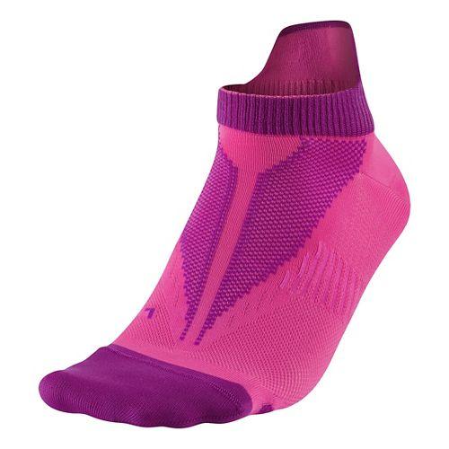 Nike Elite Lightweight No Show Socks - Pink M