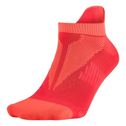 Nike Elite Lightweight No Show Socks - Lava Glow M
