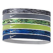 Womens Nike Printed Headbands 6 pack Headwear