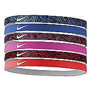 Womens Nike Printed Headbands 6 pack Headwear