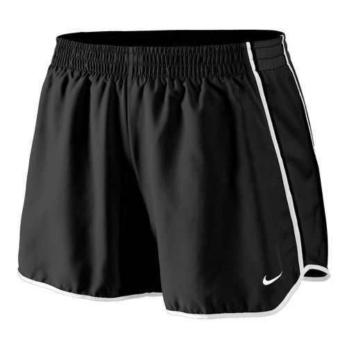 Womens Nike Pacer Lined Shorts - Black/White L