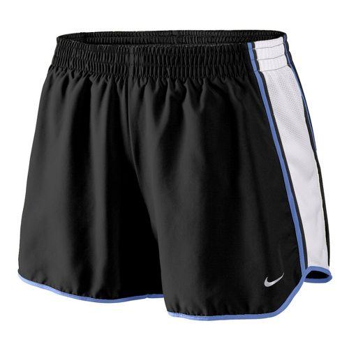 Womens Nike Pacer Lined Shorts - Black/White/Mega Blue L
