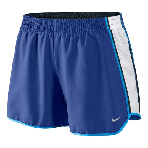 Womens Nike Pacer Lined Shorts - Blue Velvet/White XL