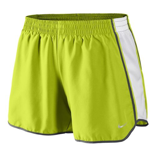 Womens Nike Pacer Lined Shorts - Bright Green L