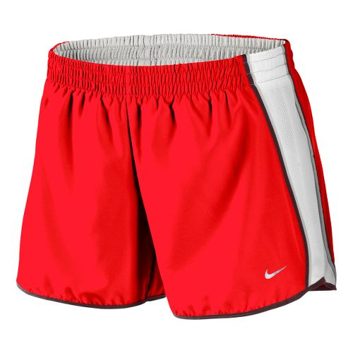 Womens Nike Pacer Lined Shorts - Chili Red/White L